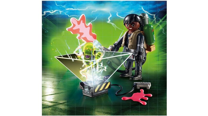 PLAYMOBIL 9349 Ghostbusters Geisterjaeger Winston Zeddemore