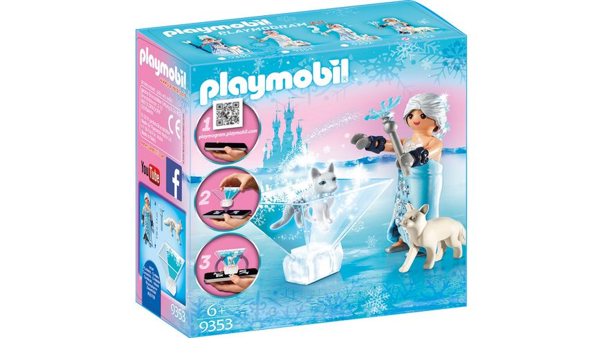 PLAYMOBIL 9353 Princess Prinzessin Winterbluete