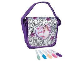 Smoby Violetta Messenger Bag zum Ausmalen