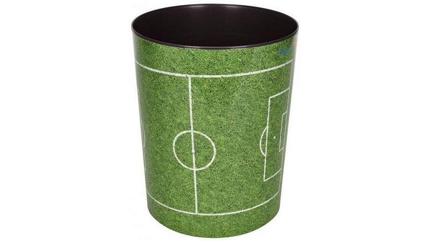 Laeufer Papierkorb Fussballfeld 13L
