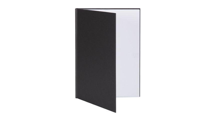 ROeSSLER Notizbuch S O H O A4 schwarz blanko