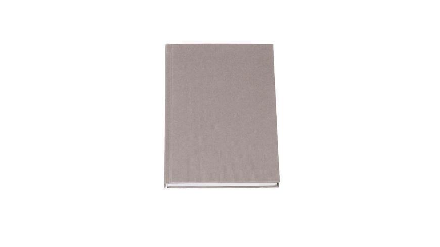 ROeSSLER Notizbuch S O H O A5 taupe blanko
