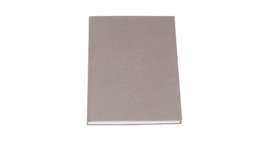 ROeSSLER Notizbuch S O H O A4 taupe blanko