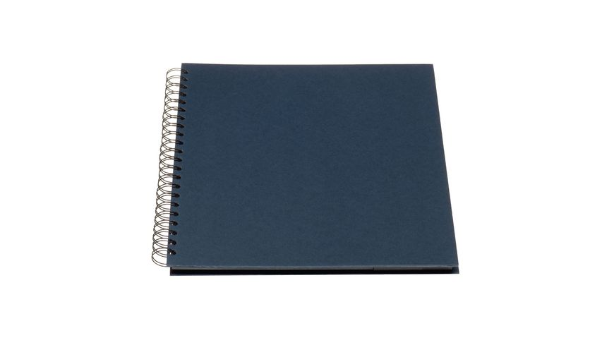 ROeSSLER Spiral Fotoalbum S O H O navy 315 x 301 x 27 mm