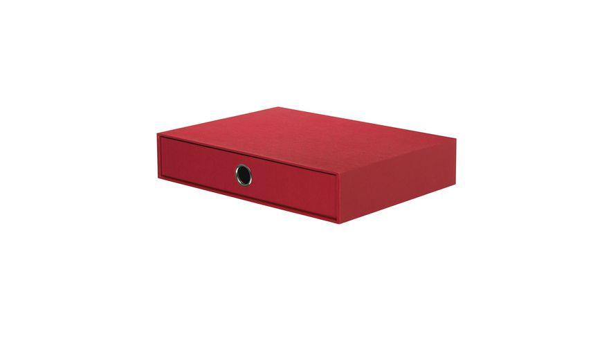 ROeSSLER Schubladenbox S O H O rot