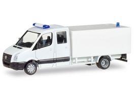 Herpa 13185 Herpa MiniKit VW Crafter mit Kofferaufbau weiss