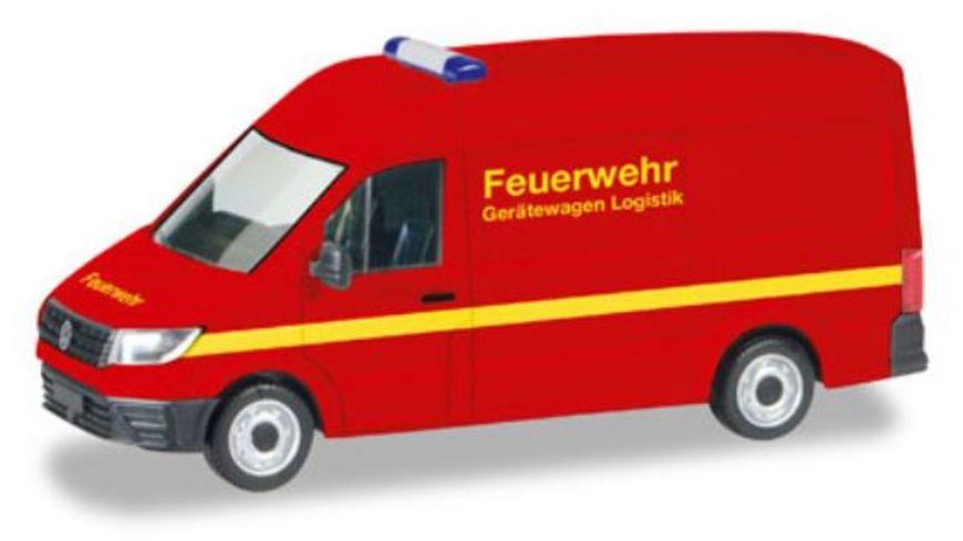 Herpa 93477 VW Crafter Kasten Hochdach Feuerwehr