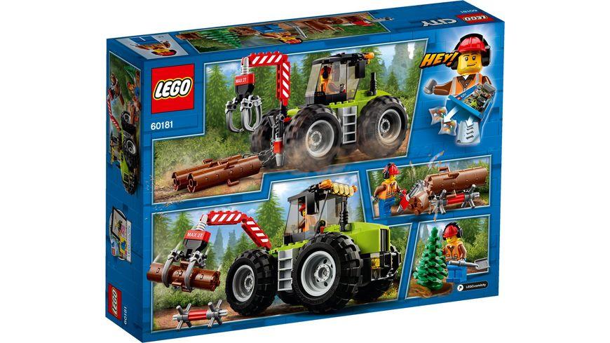 LEGO City 60181 Forsttraktor