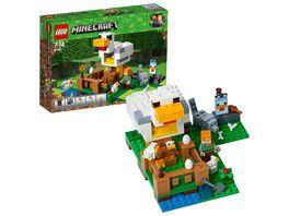 LEGO Minecraft 21140 Huehnerstall