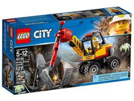 LEGO City 60185 Power Spalter fuer den Bergbau