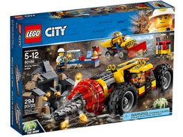 LEGO City 60186 Schweres Bohrgeraet fuer den Bergbau