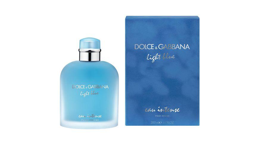 DOLCE GABBANA Light Blue Pour Homme Eau Intense