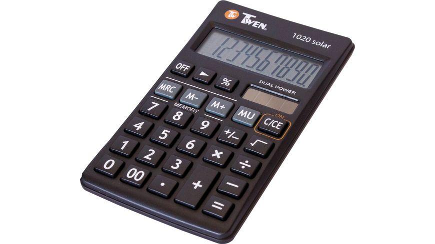 TWEN Taschenrechner 1020 solar
