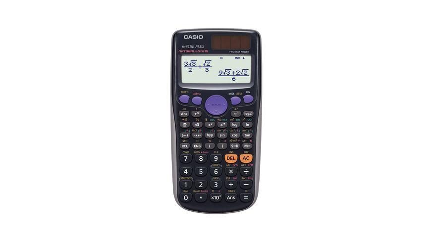 CASIO Schulrechner FX 87 DE PLUS