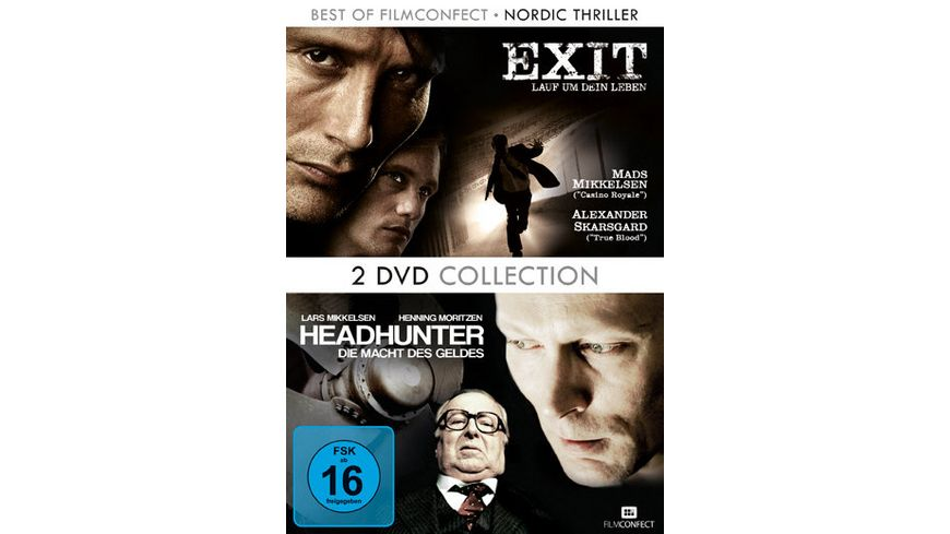 Nordic Thriller Box 2 DVDs