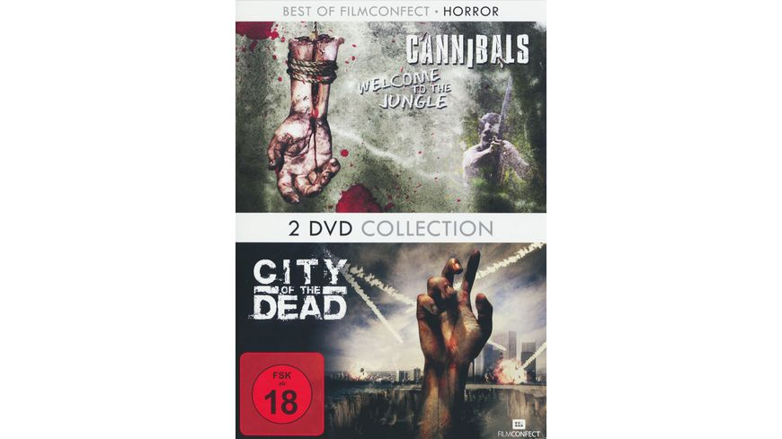 Cannibals Welcome to the Jungle City of the Dead 2 DVDs