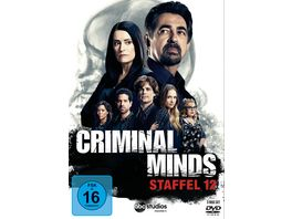 Criminal Minds Die komplette zwoelfte Staffel 5 DVDs