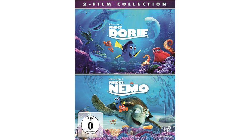 Findet Dorie Findet Nemo 2 DVDs