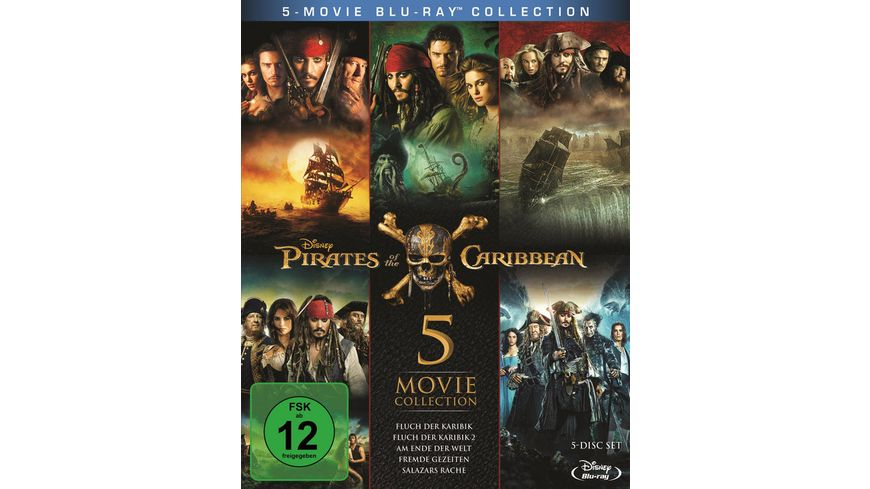 Pirates of the Caribbean 1 5 Box 5 BRs
