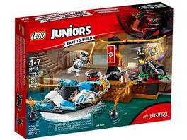 LEGO Juniors 10755 Zanes Verfolgungsjagd mit dem Ninjaboot