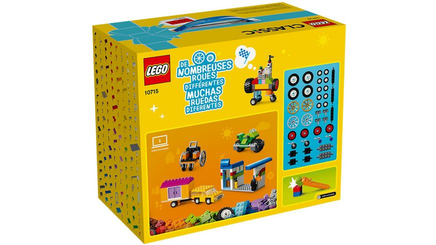 LEGO Classic 10715 LEGO Kreativ Bauset Fahrzeuge