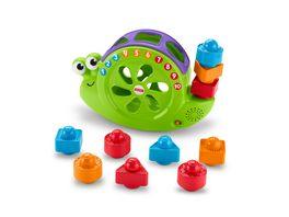 Fisher Price Babys Musik Schnecke Steckspielzeug Stapelspiel Lernspielzeug