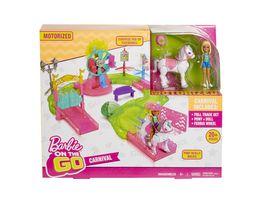 Mattel Barbie On the Go Freizeitpark Spielset