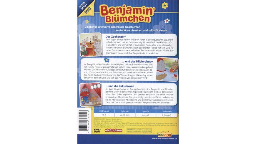 Benjamin Bluemchen Das Zookonzert Und das Nilpferdbaby Und die Zirkusloewen Bilderbuch DVD