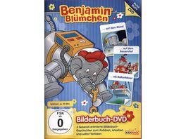 Benjamin Bluemchen auf dem Mond auf dem Bauernhof als Ballonfahrer Bilderbuch DVD