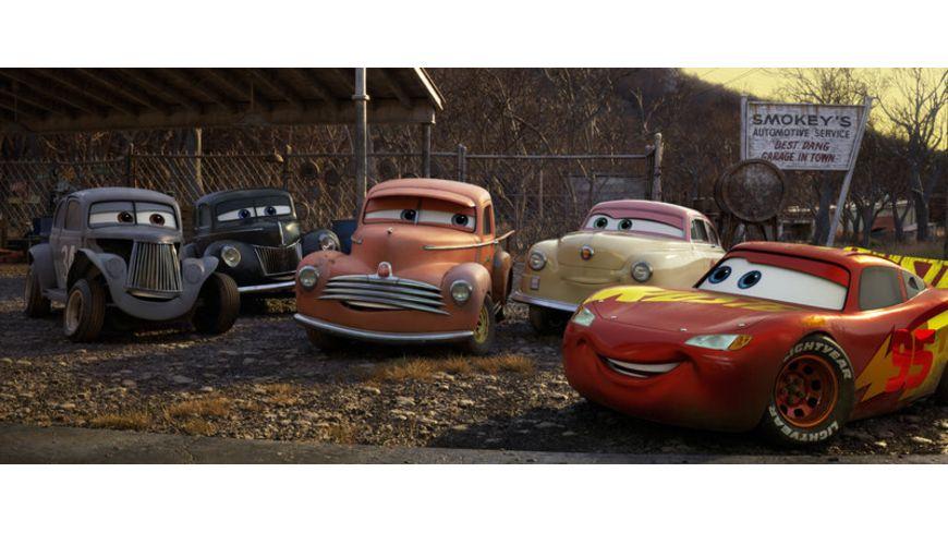Cars 3 Evolution Blu ray 2D