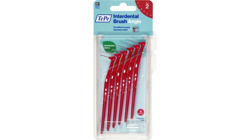 TePe Interdentalbuersten Angle Rot 0 5mm