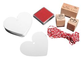 Rayher Stempel Set With Love 37 teilig
