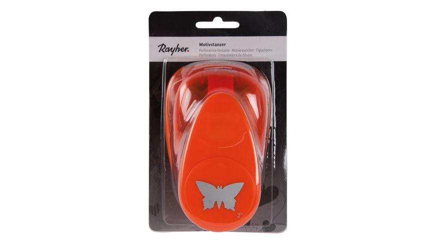 Rayher Motivstanzer Schmetterling 5 08 cm