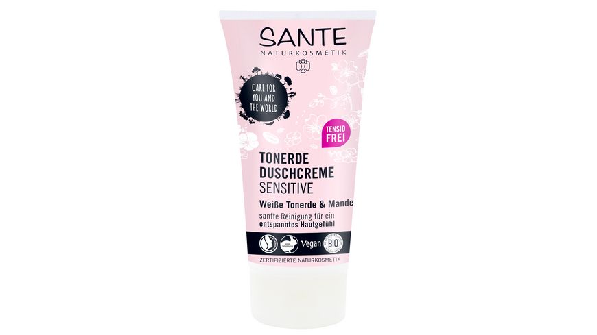 SANTE Tonerde Duschcreme Sensitive