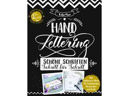 Handlettering Schoene Schriften Schritt fuer Schritt