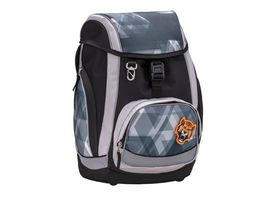 Jolly Belmil Comfy Pack 43teiliges Schulrucksack Set Simply Grey and Black