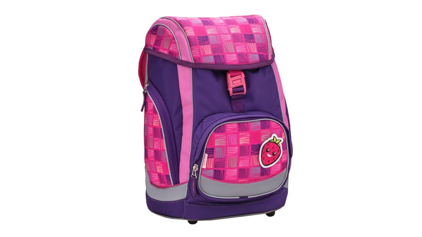 Jolly Belmil Comfy Pack 43teiliges Schulrucksack Set Pink Purple Harmony