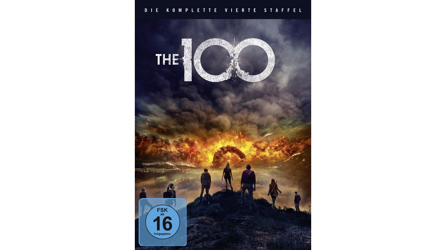 The 100 Die komplette 4 Staffel 3 DVDs