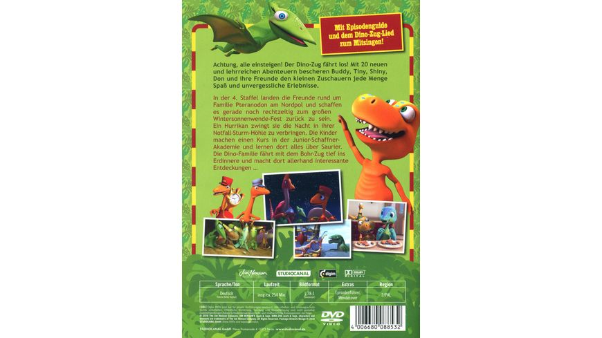 Dino Zug Staffel 4 2 DVDs