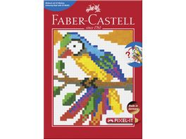 FABER CASTELL Malbuch PIXEL IT mit 32 Motiven