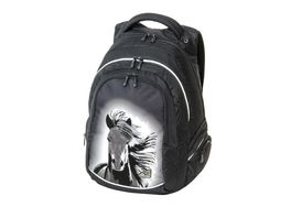 WALKER FAME Rucksack Dream Horse Black