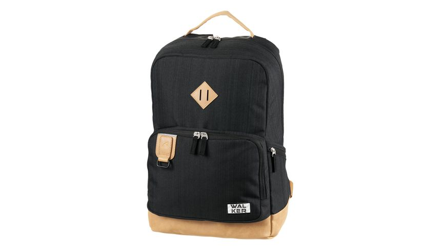 WALKER Rucksack PURE Concept black