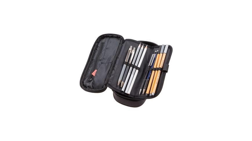 SCHNEIDERS Pencil Box Classic Black Melange