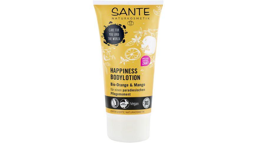 SANTE Happiness Bodylotion Bio Orange Mango