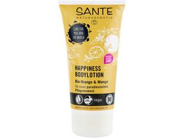SANTE Happiness Bodylotion Bio Orange Mango