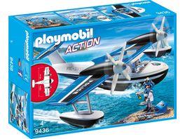 PLAYMOBIL 9436 Action Polizei Wasserflugzeug