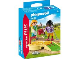 PLAYMOBIL 9439 Special Plus Kinder beim Minigolfspiel