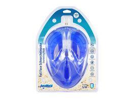 Xtrem Toys Schwimmmaske Full Face blau
