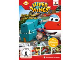 Super Wings 6 Entlaufener Dinosaurier