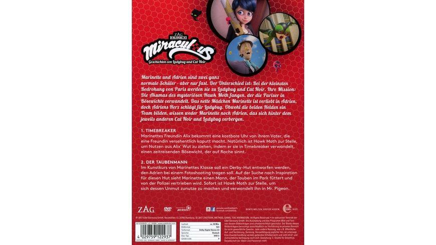 Miraculous 3 Geschichten von Ladybug und Cat Noir Timebreaker Der Taubenmann